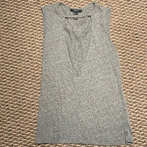 Forever 21 gray cutout tank